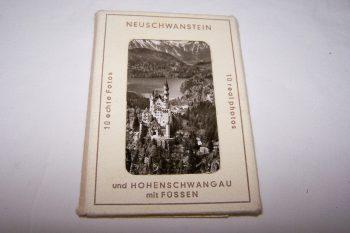 Souvenirs - Minifoto-Set - Neuschwanstein und Hohenschwangau mit Füssen