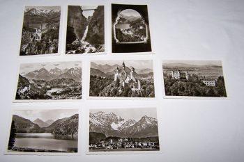 Souvenirs - Minifoto-Set - Neuschwanstein und Hohenschwangau mit Füssen - Motive