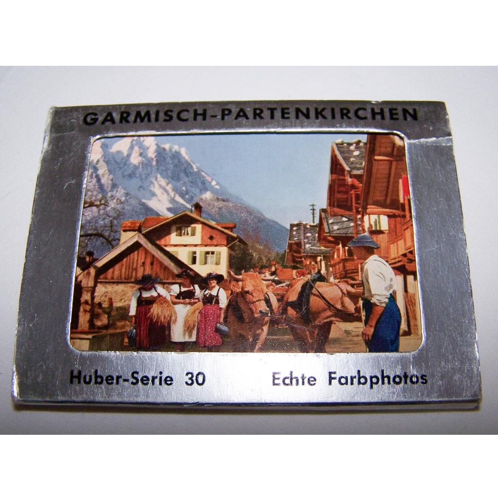 Souvenirs - Minifoto-Leporello - Garmisch-Partenkirchen