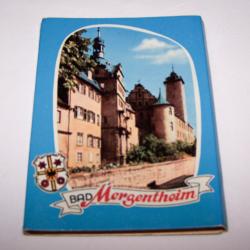Souvenirs - Minifoto-Leporello - Bad Mergentheim