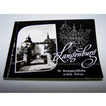 Souvenirs - Minifoto-Heftchen - Langenburg