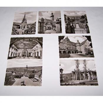 Souvenirs - Minifoto-Set - Schloss Weikersheim - Motive