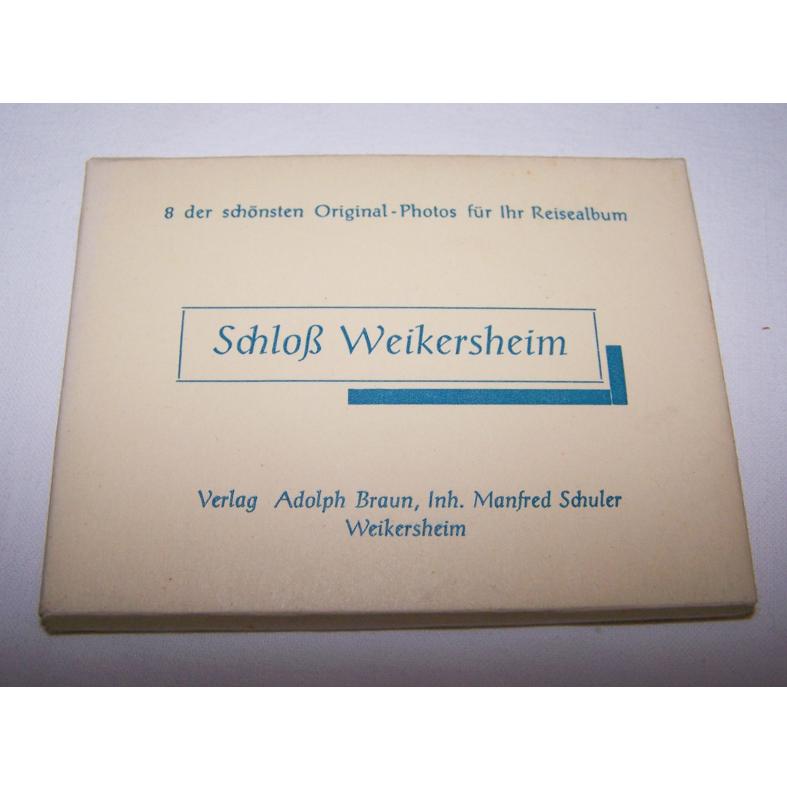 Souvenirs - Minifoto-Set - Schloss Weikersheim