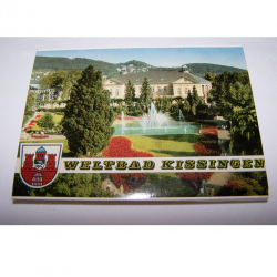 Souvenirs - Minifoto-Leporello - Weltbad Kissingen (14 Fotos)