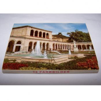 Souvenirs - Minifoto-Leporello - Weltbad Kissingen (14 Fotos) - Rückseite