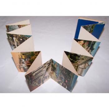 Souvenirs - Minifoto-Leporello - Weltbad Kissingen (15 Bilder) - aufgeklappt