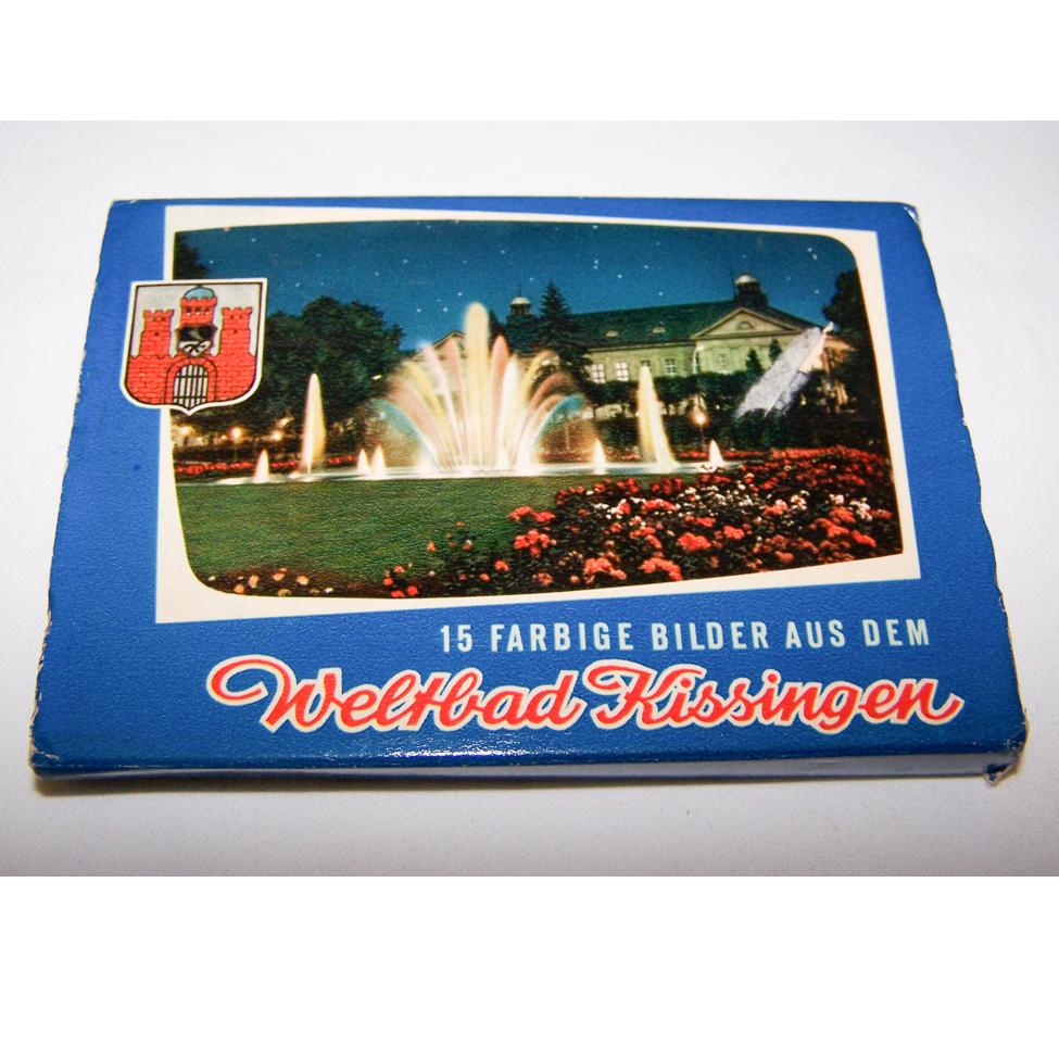 Souvenirs - Minifoto-Leporello - Weltbad Kissingen (15 Bilder)