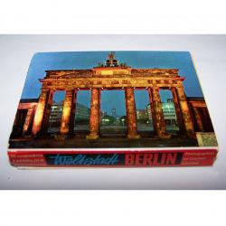 Souvenirs - Minifoto-Leporello Berlin mit 20 Farbfotos