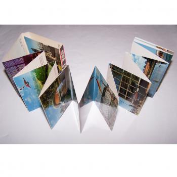 Souvenirs - Minifoto-Leporello Berlin mit 20 Farbfotos - aufgeklappt