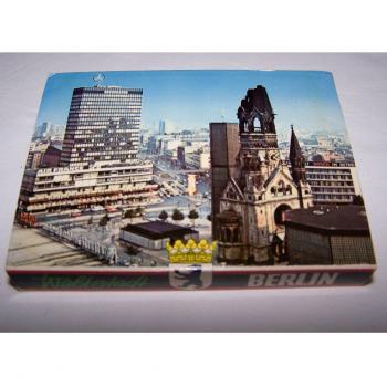 Souvenirs - Minifoto-Leporello Berlin mit 20 Farbfotos - Rückseite