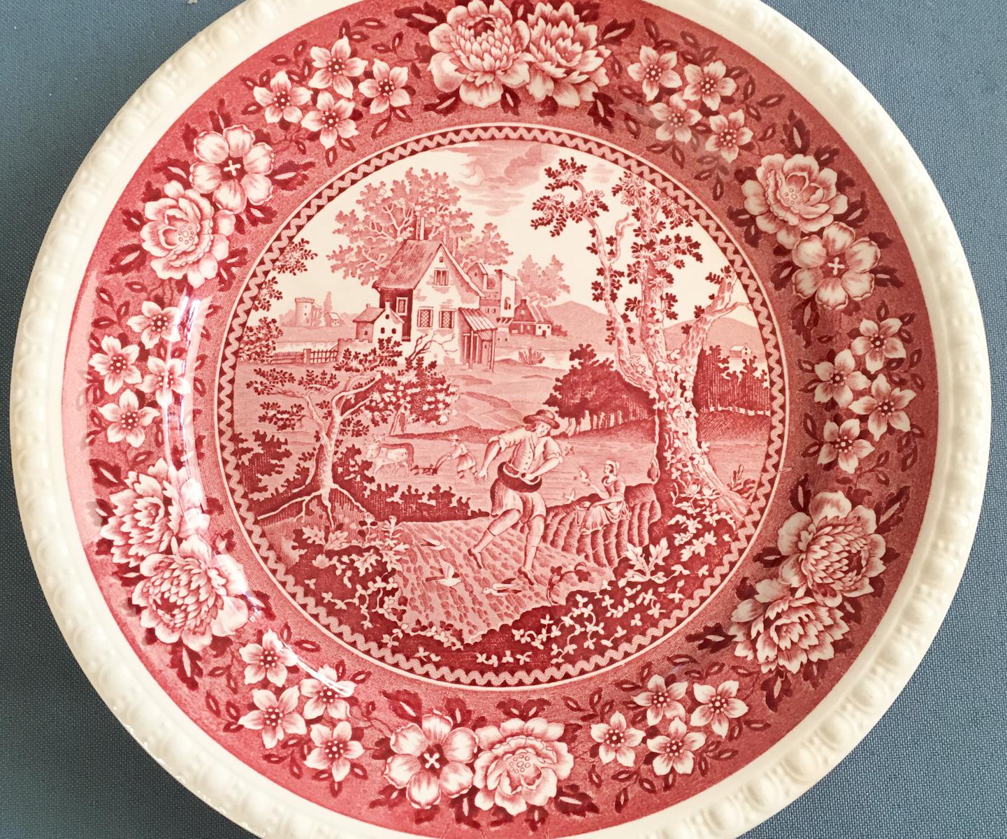 Haushalt - servieren - Geschirr - Essgeschirr Rusticana rot Villeroy & Boch