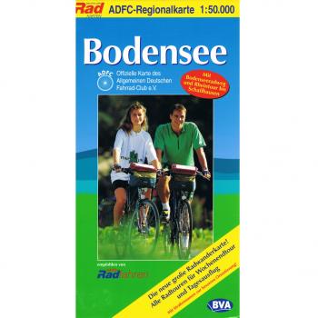 Hobby - outdoor - ADFC Regionalkarte Bodensee