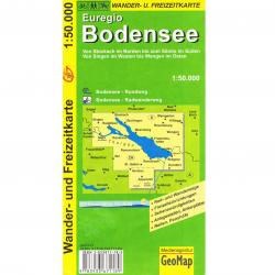 Hobby - outdoor - Wander- und Freizeitkarte Euregio Bodensee
