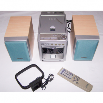 Audio, Video & Photo - aiwa Compact Disc Stereo System