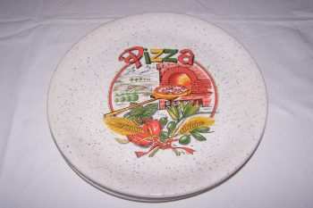 Haushalt - servieren - Geschirr - Pizzateller - Ceramica Ernana