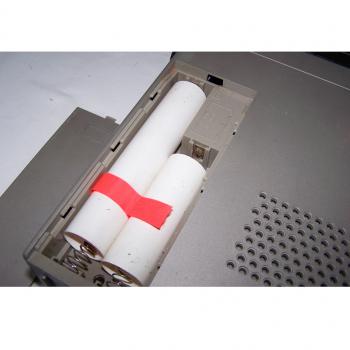 Audio-Video-Photo - Stereo-Cassetten-Recorder ITT 740 AV - Batteriefach