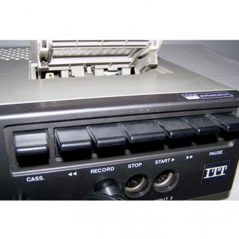 Audio-Video-Photo - Stereo-Cassetten-Recorder ITT 740 AV - Bedienung Cassetten-Recorder
