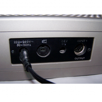 Audio-Video-Photo - Stereo-Cassetten-Recorder ITT 740 AV - Rückseite