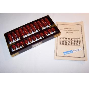 Büro - IT & Kommunikation - Chinesischer Abacus - mit Anleitung