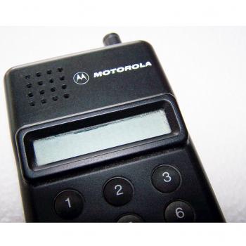 Büro - IT & Kommunikation - Sprechender Rechner - Motorola Schriftzug