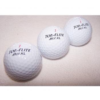 Sport - Sommer - Golfbälle mit Werbeaufdruck von Motorola - 3 Bälle