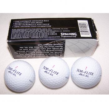 Sport - Sommer - Golfbälle mit Werbeaufdruck von Motorola - originalverpackt
