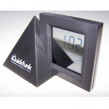 Haushalt - messen & regeln - Digital-Alarm-Tischuhr mit durchsichtigem Display 1:02 Uhr
