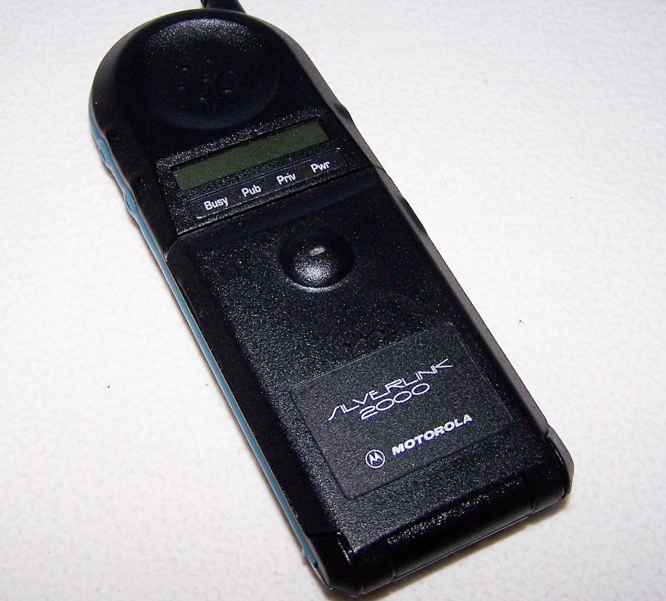 Büro - IT & Kommunikation - CT2-Schnurlos-Telefon Motorola Silverlink 2000
