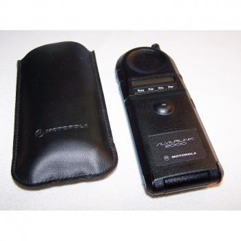 Büro - IT & Kommunikation - CT2-Schnurlos-Telefon Motorola Silverlink 2000 mit Etui