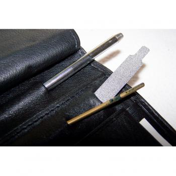 Haushalt - aufbewahren - Geldbörse Priness2000 - Motorola - Stift und Feile