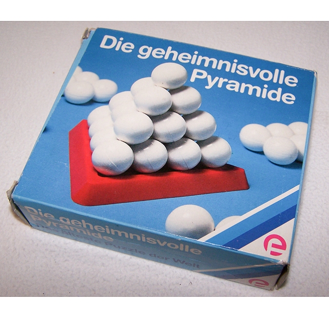 Spiel - Die geheimnisvolle Pyramide - 12 cm -Verpackung