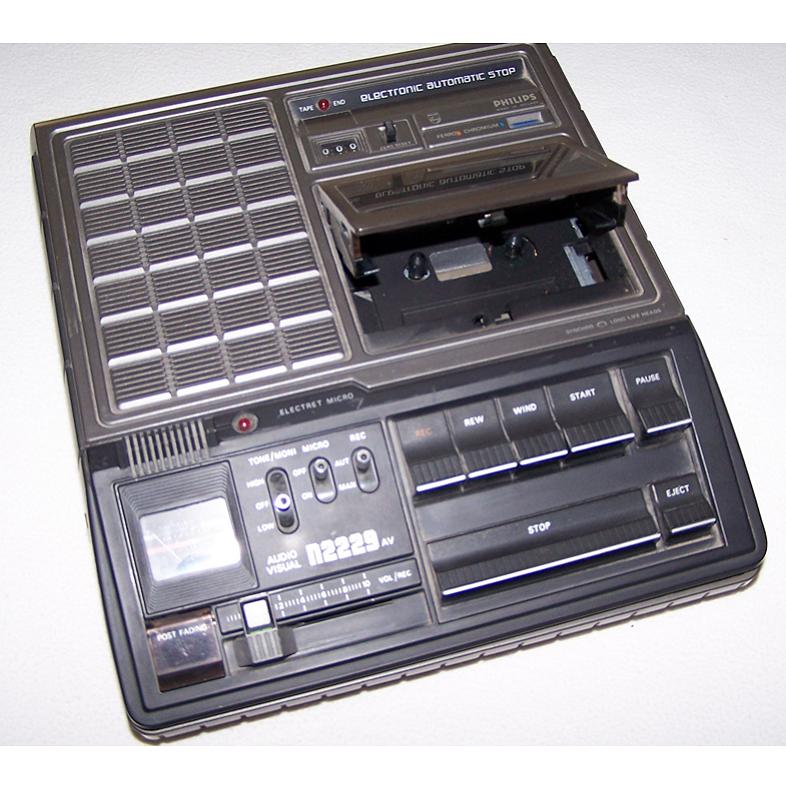 Audio, Video & Photo - Cassetten-Recorder Philips N 2229 AV