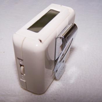 Sport - Sommer -Schrittzähler mit Entfernungskalkulator - mit Gürtelclip