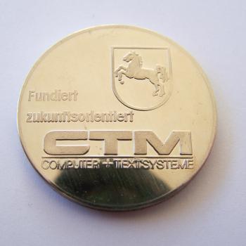 Souvenirs - CTM Jubiläumsmedaillen 3er-Set - Rückseite
