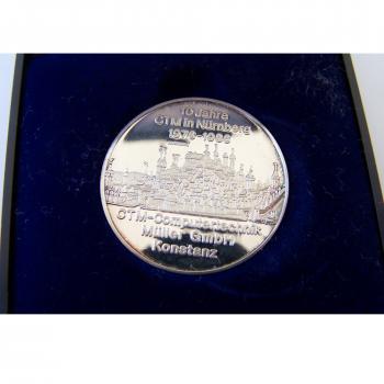 Souvenirs - CTM Jubiläumsmedaillen 3er-Set - 10 Jahre Nürnberg