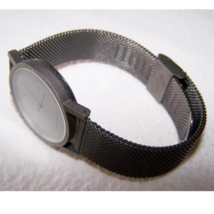 Schmuck - Uhren - Armbanduhr stainless steal - Rene Lindlov - geschlossen