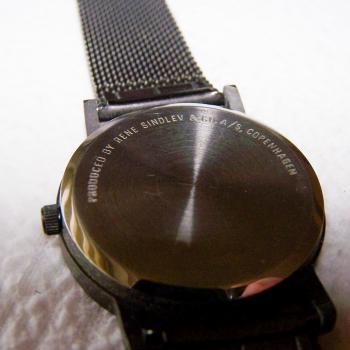 Schmuck - Uhren - Armbanduhr stainless steal - Rene Lindlov - Rückseite