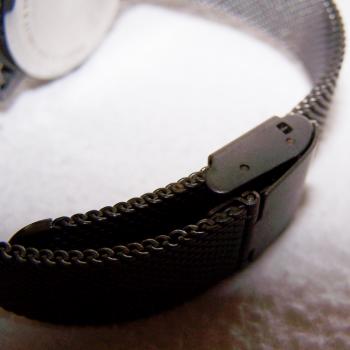 Schmuck - Uhren - Armbanduhr stainless steal - Rene Lindlov - Verschluss