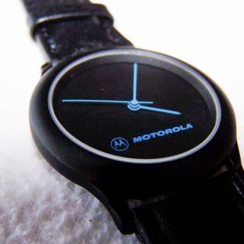Schmuck - Uhren - Armbanduhr wasserdicht mit Lederarmband und blauen Zeigern - Ziffernblatt