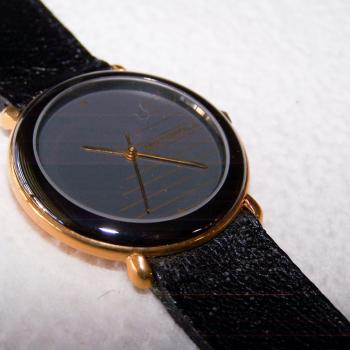 Schmuck - Uhren - Armbanduhr - ziffernblatt mit horizontalem Muster - Ziffernblatt
