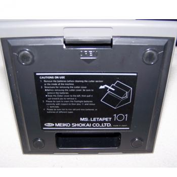Büro - Bürowerkzeuge - Elektrischer Brieföffner - Unterseite