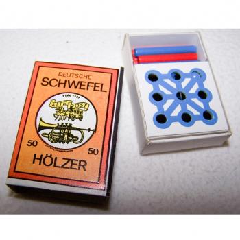 Spiel - Minispiele in Streichholzschachteln - Minimühle