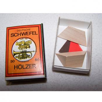Spiel - Minispiele in Streichholzschachteln - Pyramide