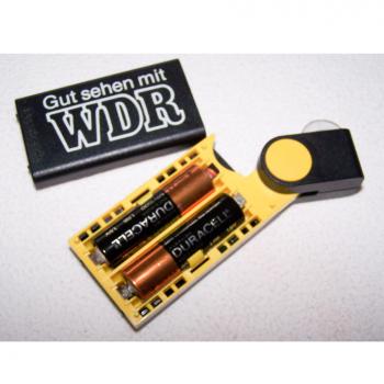 Haushalt - Sicherheit - Taschenlampe Durabeam - Batteriefach