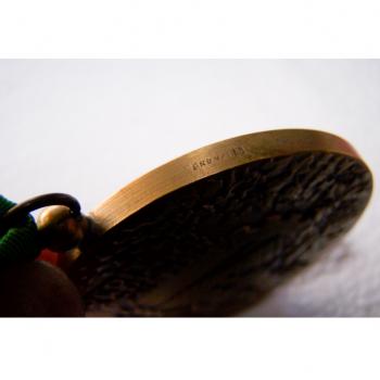 Hobby - Münzen & Medaillen - Bronze-Medaille Credit Agricole Mutuel Loir & Cher - Randgravur Bronze