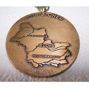 Hobby - Münzen & Medaillen - Bronze-Medaille Credit Agricole Mutuel Loir & Cher - Vorderseite