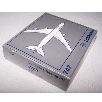 Spiel - Lufthansa Boing 747 - Schabak-Modell 1:600 - originalverpackt