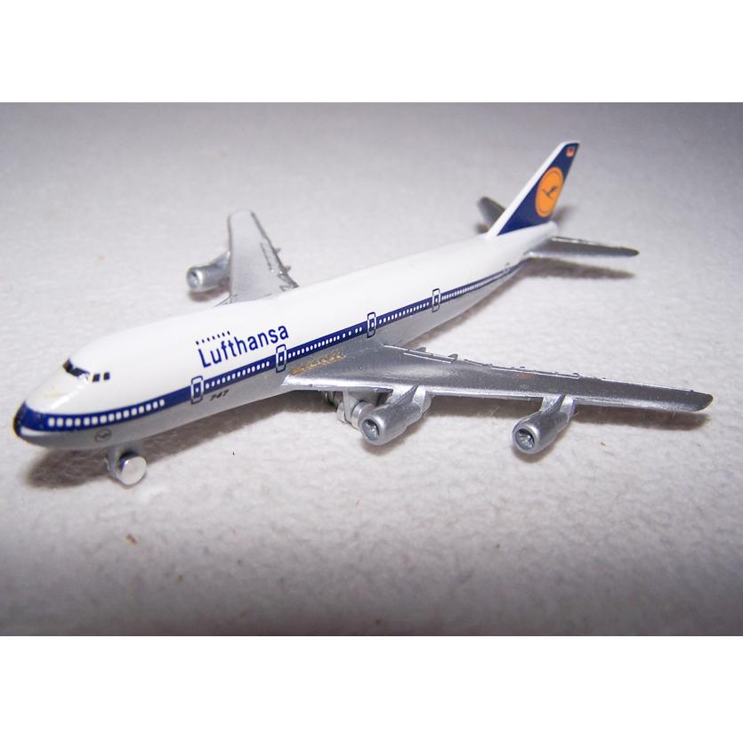 Spiel - Lufthansa Boing 747 - Schabak-Modell 1:600