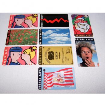 Souvenirs - Bremer Karten - Motive