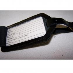 Taschen - Kofferanhänger - Motorola - geöffnet
